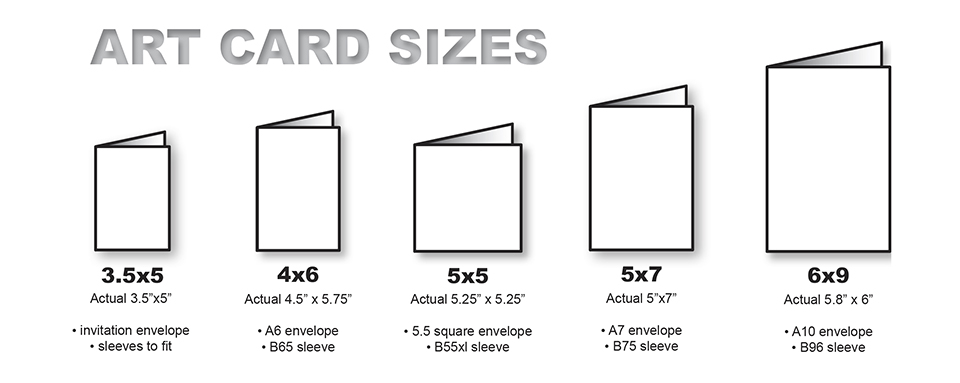 Standard Greeting Card Size – Standard Birthday Card Size