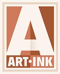Art Ink Print, Victoria BC Canada Logo